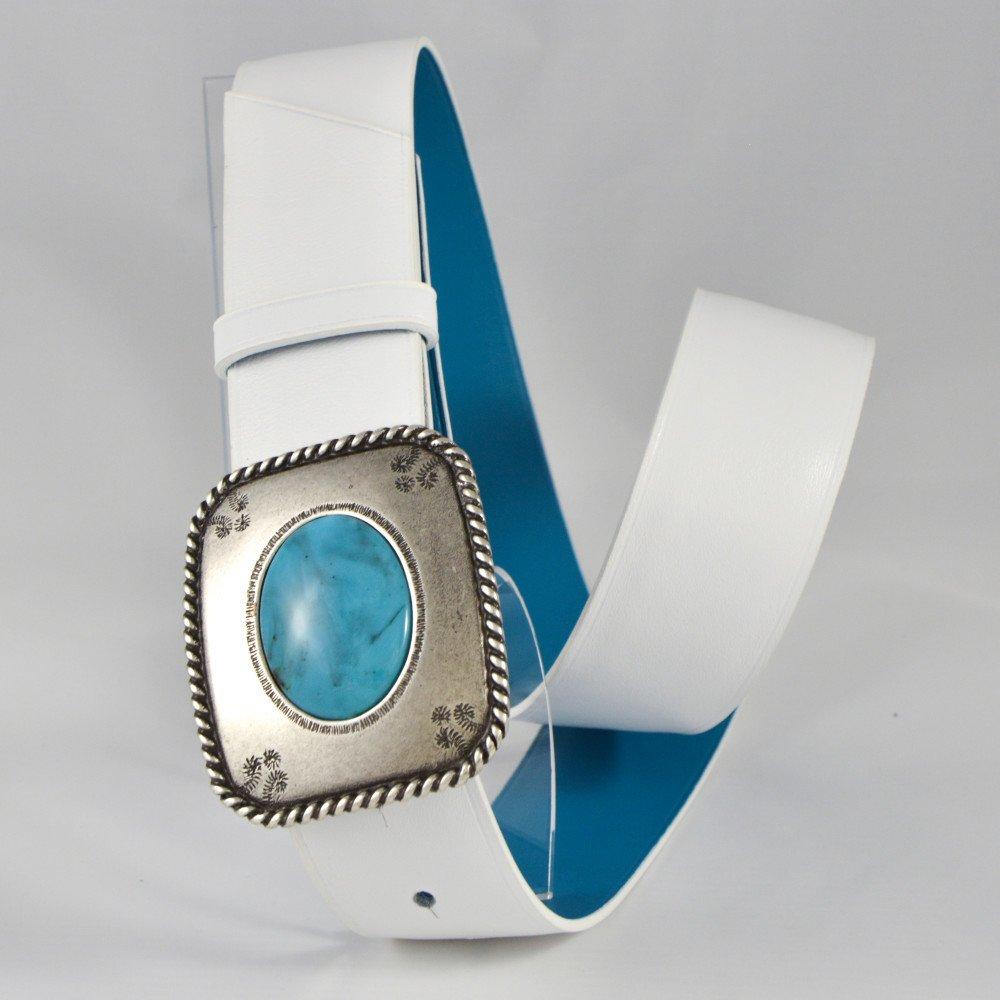 Turquoise / Blanc