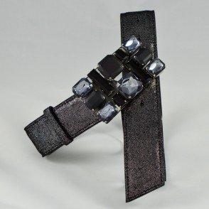"""Noir """"paillette"""" / Noir"""