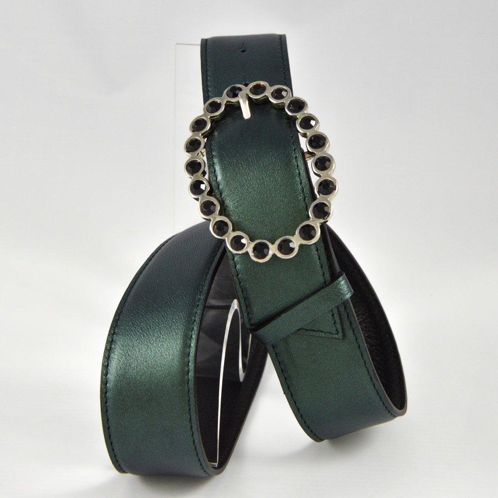Vert irisé / Noir