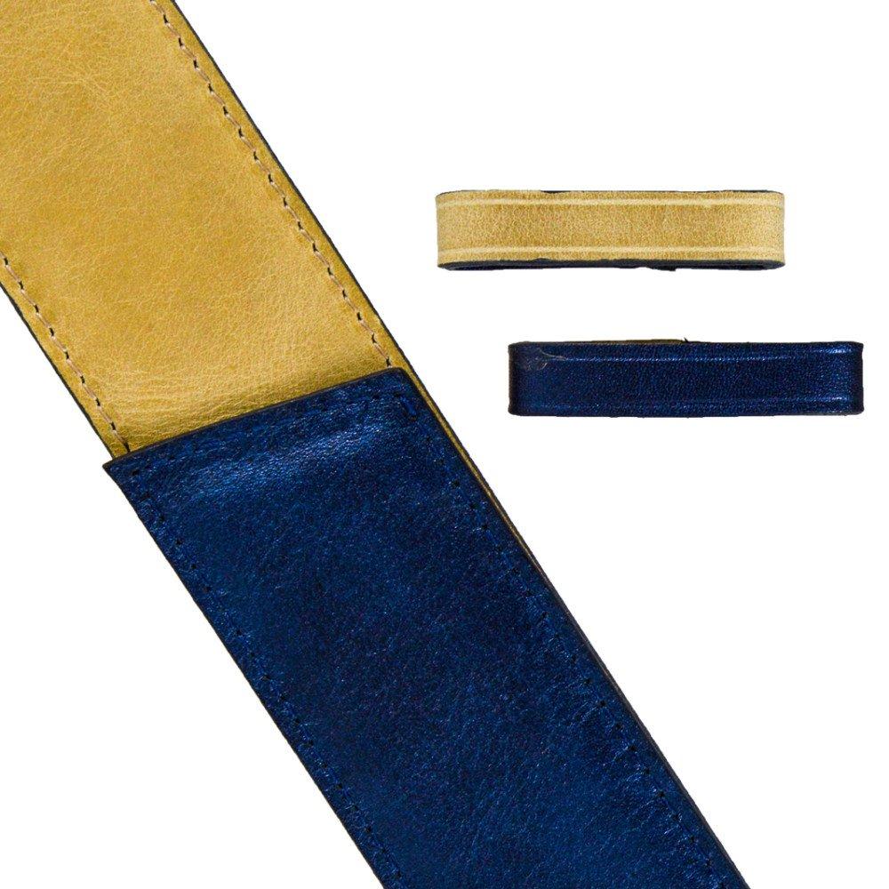 Bleu Irisé / Beige