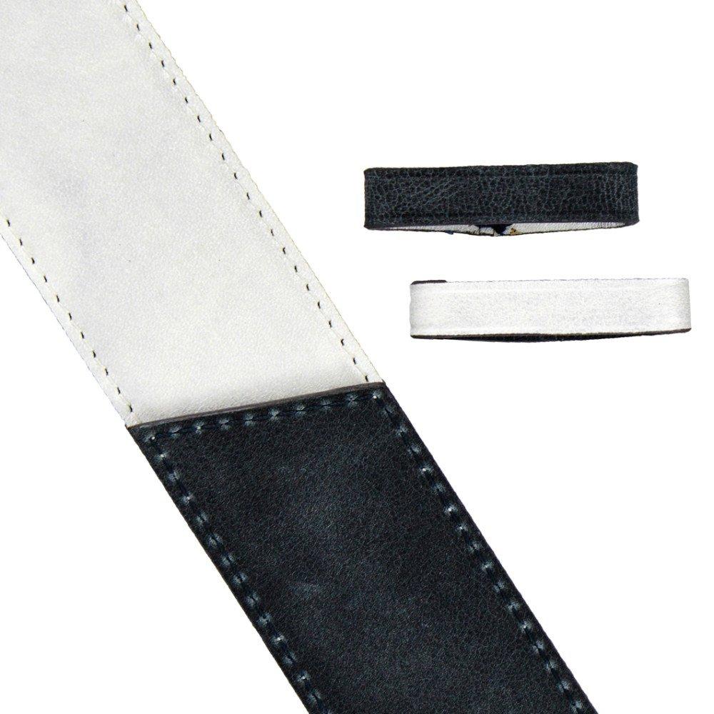 Blanc irisé / Ardoise